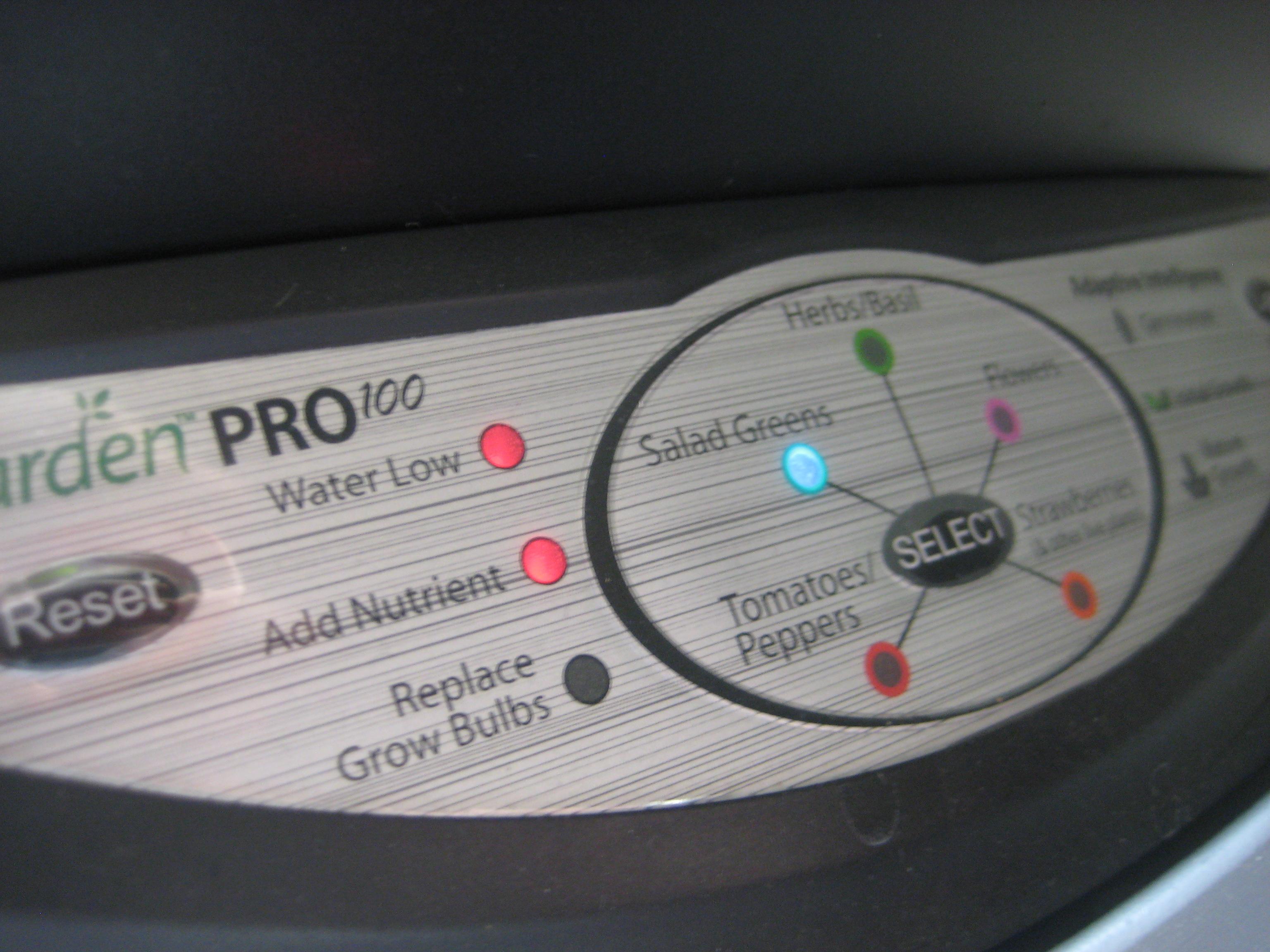Aerogarden Pro 100 Pump Garden Ftempo